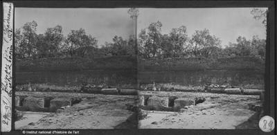 [Tivoli] Thermes de l'Hadriana. Péristyle et bassins. Sud