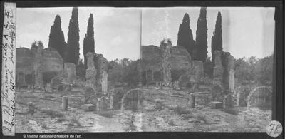 [Tivoli] Hadriana. Salles A, C, E. Orientation est
