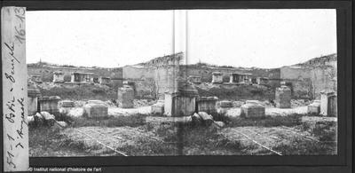 Ostie. Temple d'Auguste