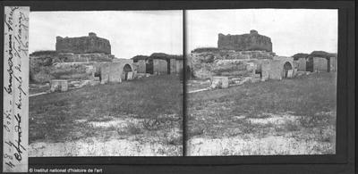 Ostie. Forum. Le temple de Vulcain