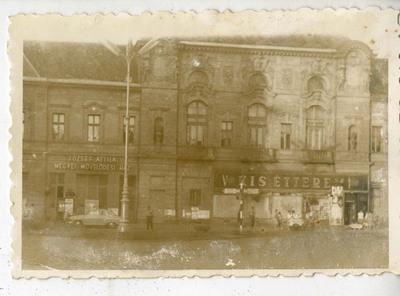 József Attila Megyei Művelődési ház és étterem / The József Attila County Cultural House and Restaurant