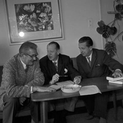 Fritz Schröder Jahn, Edgar Maass, Heinz Schwitzke