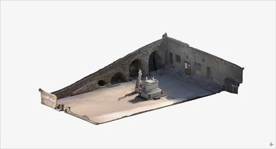 3D model of Southern Terrace at Hercolaneum