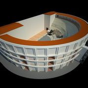 Video of 3D model Roman Theatre of Naples with original cavea and Buttres