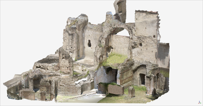 Video of 3D model of Roman Buildings at Naples (Carminiello ai Mannesi)