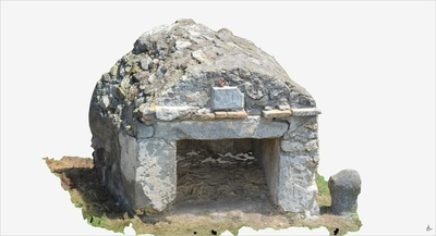 3D model of Tomb of Salvius (Pompeii Porta Ercolano)