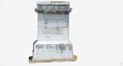 3D model of Tomb of Luccius Libella (Pompeii Porta Ercolano)