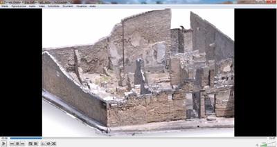 Video of 3D model of Stallius Eros Domus