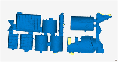 Images of 3D model of Storerooms at Naples (Carminiello ai Mannesi)
