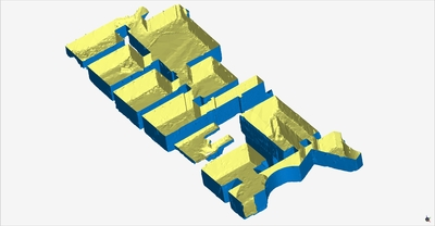 3D model of Storerooms at Naples (Carminiello ai Mannesi)