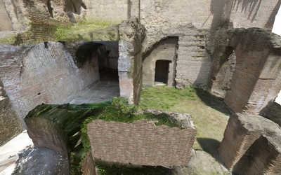 3D model of Mithraeum at Naples (Carminiello ai Mannesi)