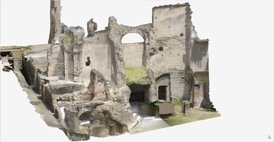 3D model of Roman Buildings at Naples (Carminiello ai Mannesi)