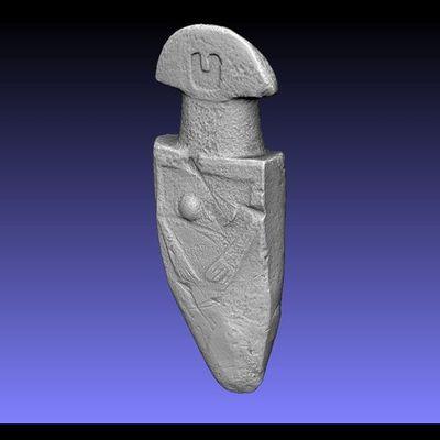 Lunigiana Stele - Groppoli 1 low-res 3D model