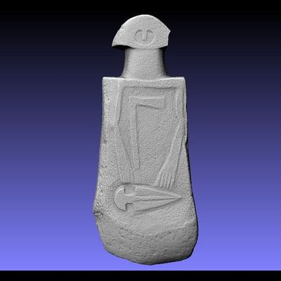 Lunigiana Stele - Groppoli 4 master 3D model