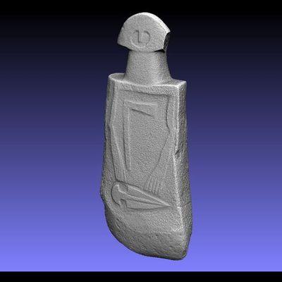 Lunigiana Stele - Groppoli 4 low-res 3D model