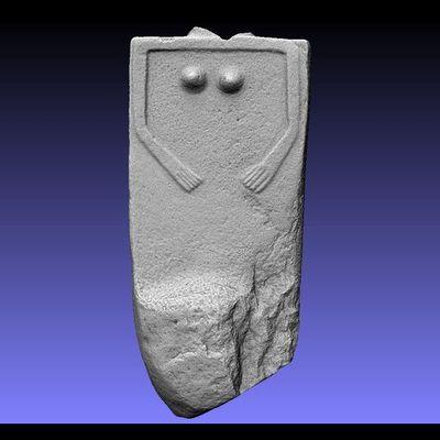 Lunigiana Stele - Groppoli 8 master 3D model