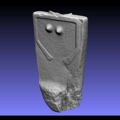 Lunigiana Stele - Groppoli 7 low-res 3D model