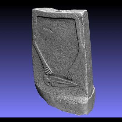 Lunigiana Stele - Groppoli 8 low-res 3D model