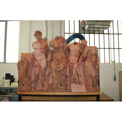 Luni Temple - Pediment A - photographic campaign