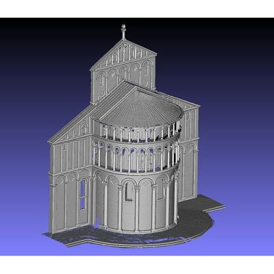 Pisa Cathedral - Apse 3D model