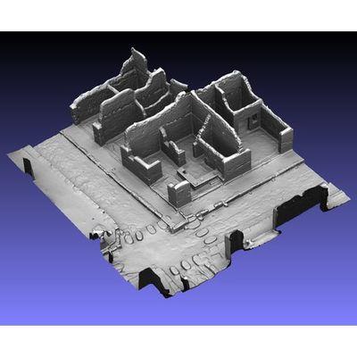Insula V 1 - South corner shops 3D model