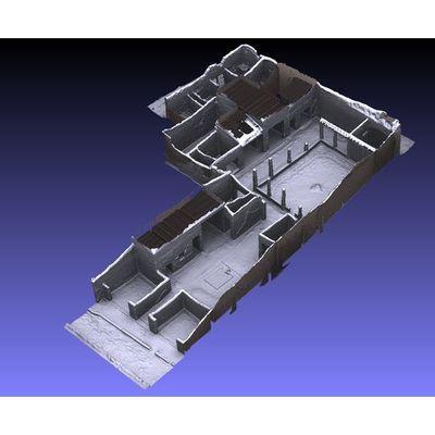 Insula V 1 - Epigrammi House 3D model