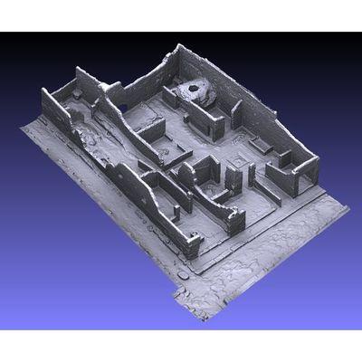 Insula V 1 - North-West corner workshop 3D model