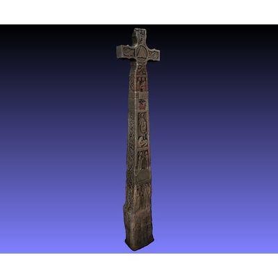 Ruthwell Cross - Colored 3D model