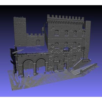 San Gimignano - Town Hall 3D pointcloud