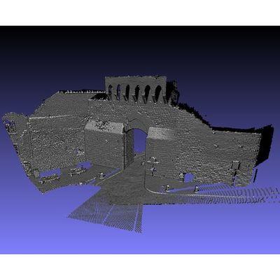 San Gimignano - S. Matteo Gate 3D pointcloud