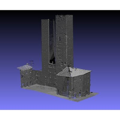 San Gimignano - Twin Towers 3D pointcloud