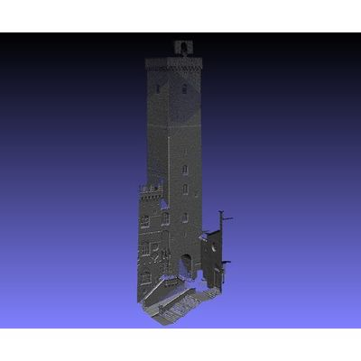 San Gimignano - Grossa Tower 3D pointcloud