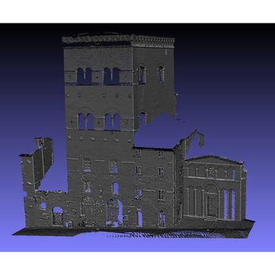 San Gimignano - Pesciolini Tower 3D pointcloud