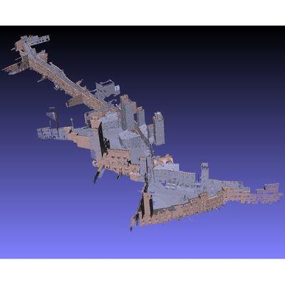 San Gimignano - Global 3D pointcloud