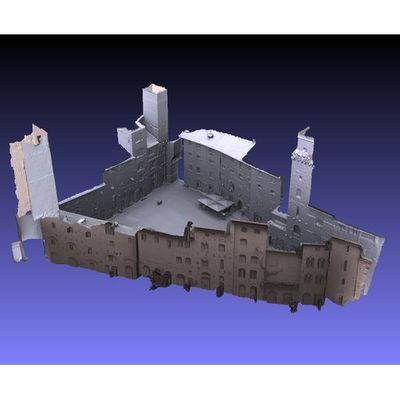 San Gimignano - Piazza della Cisterna 3D model
