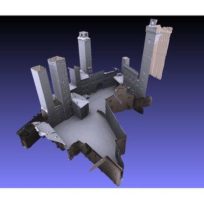 San Gimignano - Piazza del Duomo 3D model