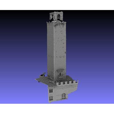San Gimignano - Rognosa Tower 3D model