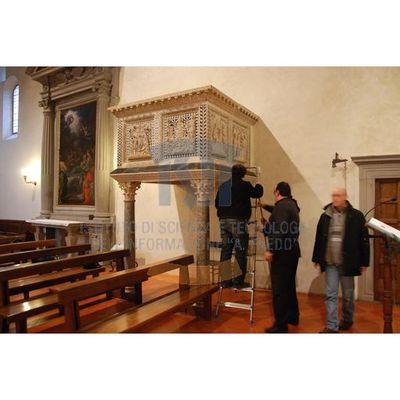 San Leonardo in Arcetri - Pulpit - Photographic Campaign