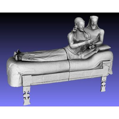 Sarcofago degli Sposi - Master 3D model