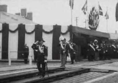 Kong Christian IX modtager Storhertug Friedrich-Franz af Mecklenburg Schwerin
