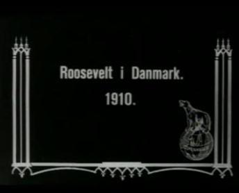 Expresident Roosevelts Ankomst til København