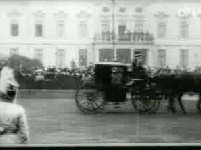 Kong Frederik VIII's Ankomst til Berlin