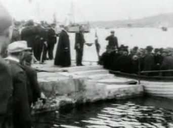 Kong Frederik VIII besøger Færøerne