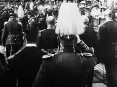 Kejser Wilhelms Ankomst til København
