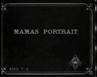 Le portrait de maman