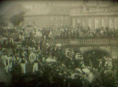 Haandværkeroptog fra Christiansborg, 1904.