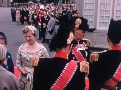 Kong Olavs besøg 1958