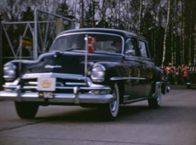 Kejser Haile Selassies besøg 1954