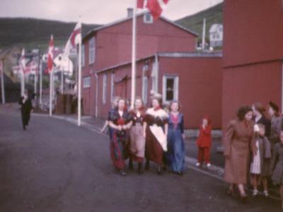 Kongeparrets besøg på Færøerne