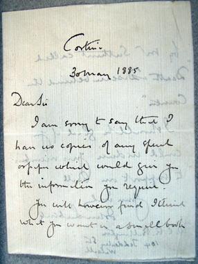 [Letter] 1885-05-30, Cortina